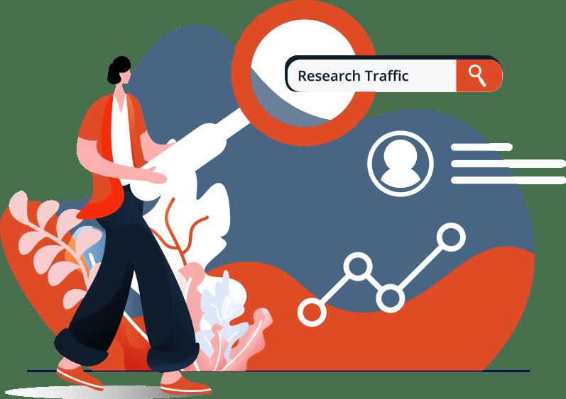 research traffic